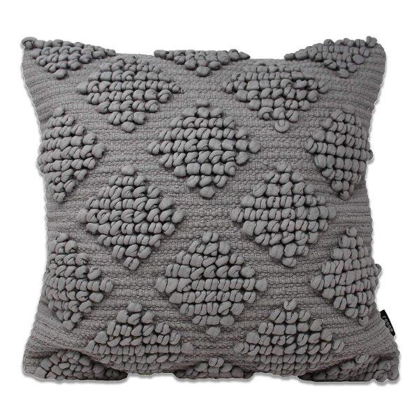 bobble cushion grey 1