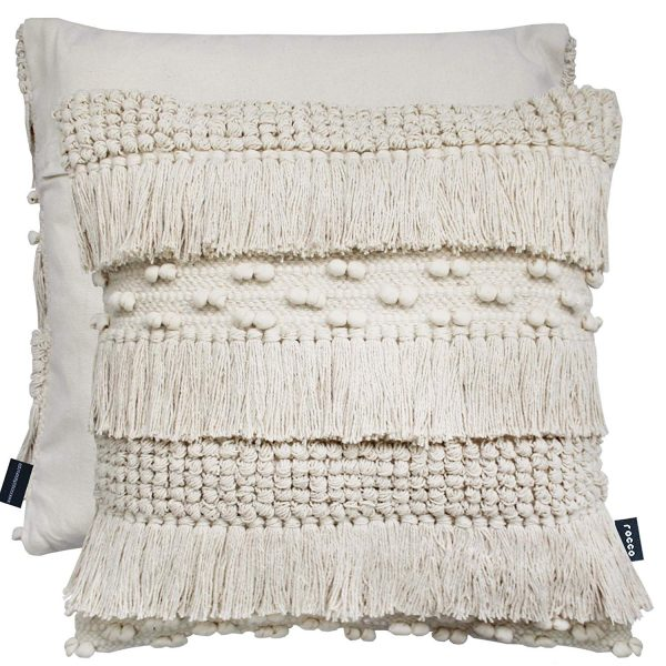 natural tassel cushion 1