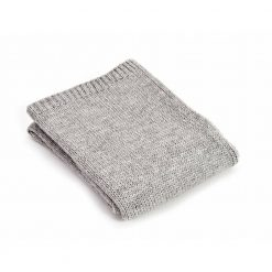 Grey Throw Blanket, Alpaca Wool, Sofa Throw, Grey Bed Throw, Grey Wool Blankets & Throws, Grey Knitted Throw, Knitted Throw, Free Delivery