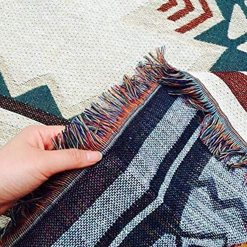 Tapestry Throw Blanket, Boho Throw Blanket, Woven Fringed, Sofa Throw, Woven Bed Throw, Blankets & Throws, Boho Throw, Large Throw Blanket